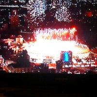 Photo taken at UEFA EURO 2012 Poland / Ukraine by Kasia L. on 7/1/2012