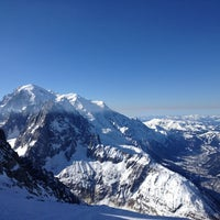 Photo taken at Les Grands Montets by Thomas D. on 3/5/2012