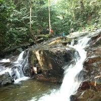 Photo taken at Air Terjun Sg. Gabai (Waterfall) by Wafiq R. on 7/7/2012