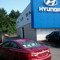 Photo taken at Key Hyundai by Reece on 7/16/2012