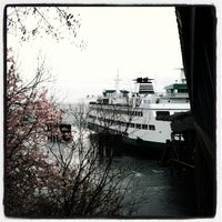 Photo taken at Bainbridge Island Ferry Terminal by Makoto on 3/16/2012