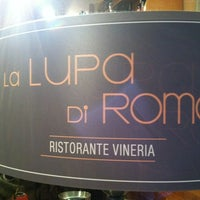 Photo taken at La Lupa Di Roma by 'Mark's List Mark .. on 7/9/2012