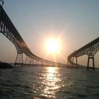 Photo taken at Chesapeake Bay Bridge by David F. on 7/17/2012