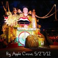 Photo taken at Big Apple Circus by Warren C. on 5/27/2012