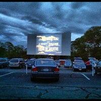 Photo taken at Wellfleet Drive-in and Cinemas by Matt D. on 6/28/2012
