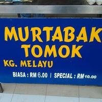 Photo taken at (Restoran Rafi) Murtabak Tomok Kg. Melayu by Maisarah on 6/16/2012