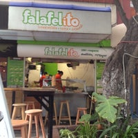 Photo taken at Falafelito by Tabata Z. on 7/10/2012
