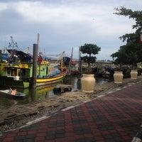 Photo taken at Jeti Kuala Besut (Jetty) by Ayien S. on 6/6/2012