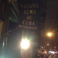 Photo taken at Havana Alma de Cuba by Greg B. on 2/12/2012