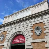 Photo taken at Museo della Repubblica Romana e della memoria garibaldina by Alessio D. on 4/8/2012