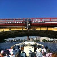 Photo taken at Vauxhall Bridge by Shaun H. on 7/24/2012