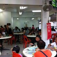 Photo taken at You Huak Restaurant (Sembawang White Beehoon 三巴旺白米粉) by Daniel K. on 2/14/2012