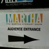 Photo taken at The Martha Stewart Show by Lauren Y. on 2/23/2012