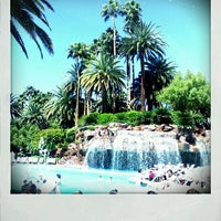 Photo taken at The Mirage Pool & Cabanas by Alison M. on 3/30/2012