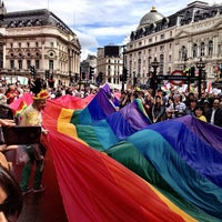 Photo taken at World Pride London 2012 by Keith H. on 7/7/2012