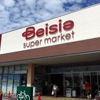 Photo taken at ベイシアスーパーマーケット 流山駒木店 by kazuo h. on 8/16/2012