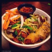 Photo taken at Green Papaya by Dallas Foodie (. on 9/8/2012