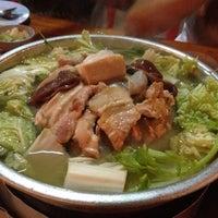 Photo taken at ร้านศรีปทุม หมูกะทะ-หมูย่างเกาหลี :-P by Aum on 3/27/2012