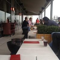 Photo taken at Plunge Rooftop Bar & Lounge by Richard C. on 9/3/2012