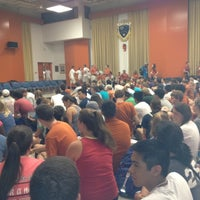Photo taken at Music Building and Recital Hall (MRH) by Kenny Z. on 8/22/2012