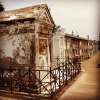 Photo taken at St. Louis Cemetery No. 1 by Jimmi M. on 7/6/2012