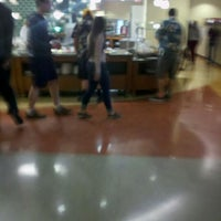 Photo taken at DeNaples Fresh Food Company (University of Scranton) by Brendan F. on 4/22/2012