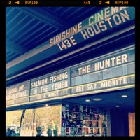 Photo taken at Landmark's Sunshine Cinema by Nikki N. on 4/13/2012