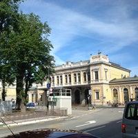 Photo taken at Stazione Trieste Centrale by Carlo F. on 6/26/2012