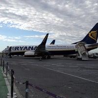 """Photo taken at Aeroporto di Roma Ciampino """"Giovan Battista Pastine"""" (CIA) by Carlo Andreas S. on 6/12/2012"""