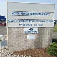Photo taken at NJ Motor Vehicle Commission by Kevin K. on 9/1/2012