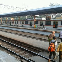 Photo taken at Stasiun Jatinegara by M Hanif A. on 7/16/2012