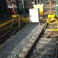 Photo taken at SEPTA Chestnut Hill East Station by IG: CASTRODOM06 on 3/8/2012