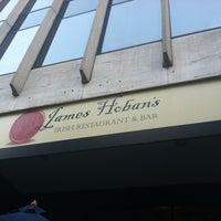 Photo taken at James Hoban's Irish Restaurant & Bar by Helen U. on 8/23/2012