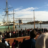 Photo taken at Inner Harbor by Jane Y. on 3/3/2012
