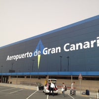 Photo taken at Gran Canaria Airport by robzt on 7/21/2012