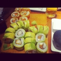 Photo taken at Sushihana by Guillermo on 7/8/2012