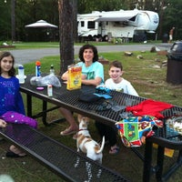Photo taken at Shaw AFB Lake Wateree Recreation Area by Scott O. on 8/24/2012