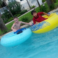 Photo taken at Lazy River @ Destin West Resort by Randy on 6/23/2012