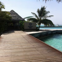 Photo taken at Sheraton Maldives Full Moon Resort & Spa by Mannau H. on 4/30/2012