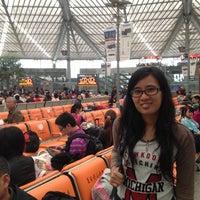 Photo taken at Shanghai South Railway Station by Mulan P. on 4/20/2012