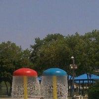 Photo taken at Beach Ottumwa by Angela W. on 5/27/2012