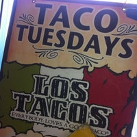 Photo taken at Los Tacos by Louis C. on 3/7/2012