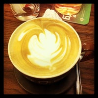 Photo taken at Ristretto Cafe by Sam S. on 2/11/2012