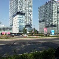 Photo taken at Piața Presei Libere by Danut T. on 6/22/2012