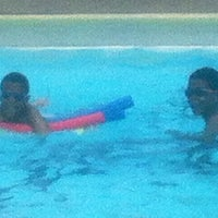 Photo taken at Imperial Towers Pool by beautifulkelli on 8/4/2012