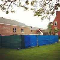Photo taken at Carl Hansen Student Center by Quinnipiac U. on 5/16/2012