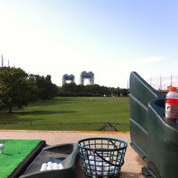 Photo taken at Randalls Island Golf Center by Dereck A. on 7/29/2012