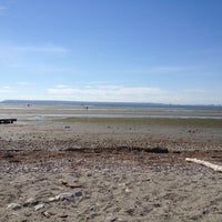 Photo taken at Crescent Beach by Greg I. on 9/2/2012