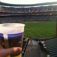 Photo taken at The Braves Chop House by Donna B. on 4/30/2012