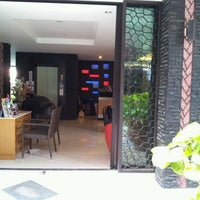 Photo taken at Baramee Hip Hotel Phuket by Weng Fei S. on 2/6/2012
